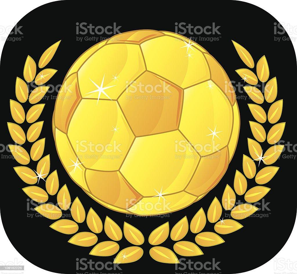 soccer award royalty-free stock vector art