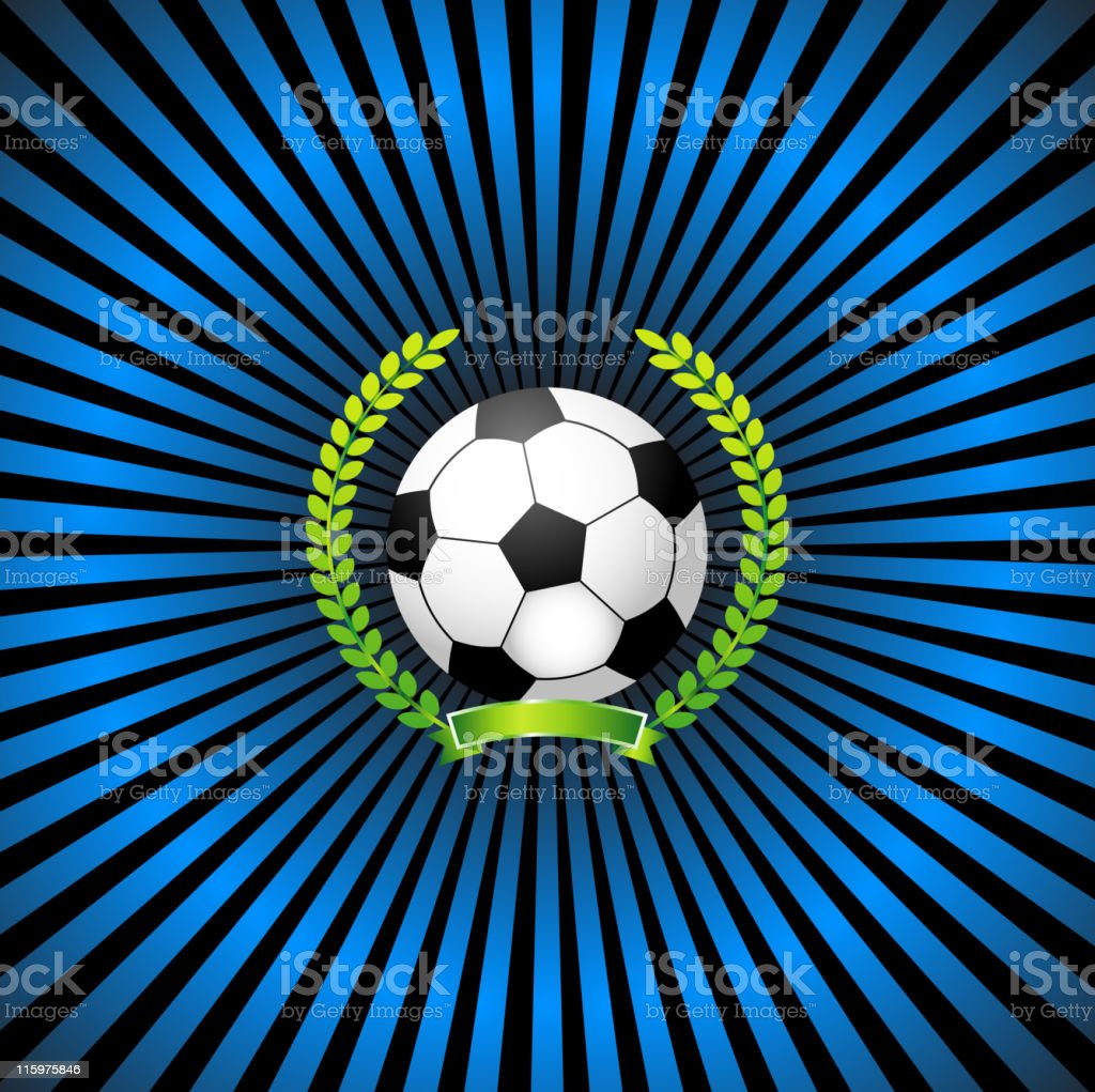 Soccer award royalty-free stock vector art