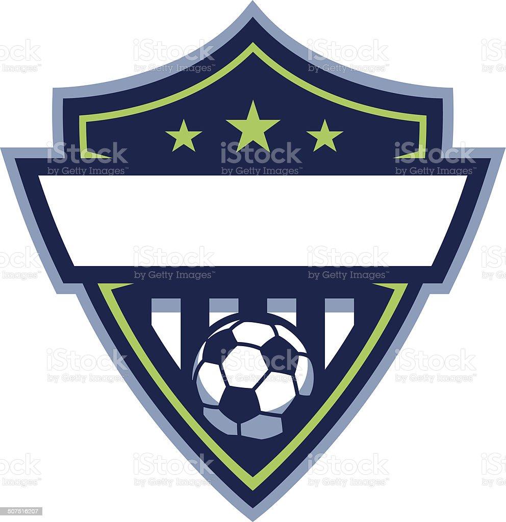 c38598c15b2b2 Tarjeta logotipo de fútbol ilustración de tarjeta logotipo de fútbol y más  vectores libres de derechos
