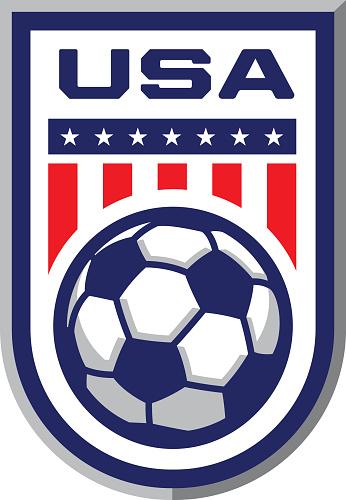 USA Soccer Badge