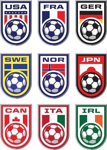 Soccer Badges