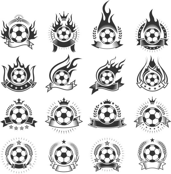 Black And White Flame Illustrations, Royalty-Free Vector