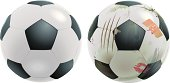 istock Soccer Ball before and after the Match 165806714