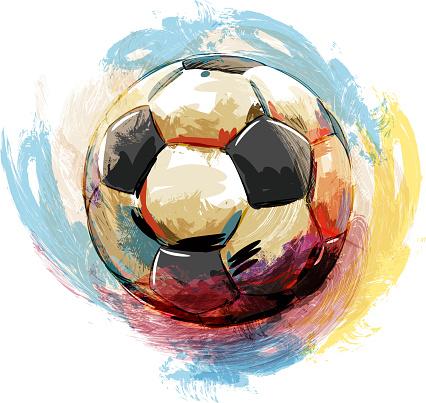 Soccer ball Drawing
