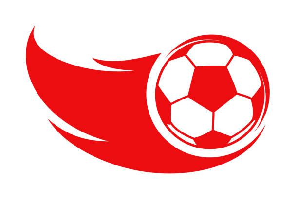 Soccer ball, football icon – stock vector Soccer ball, football icon – stock vector annotation stock illustrations