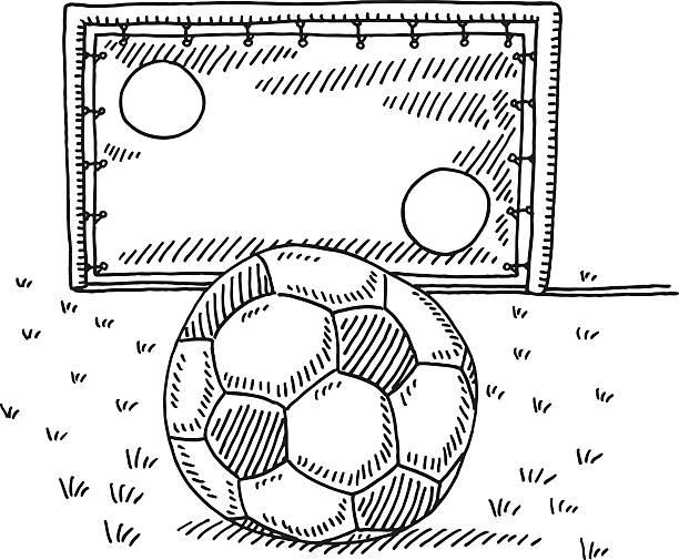 Fussball Tor Stock Vektoren Und Grafiken Istock