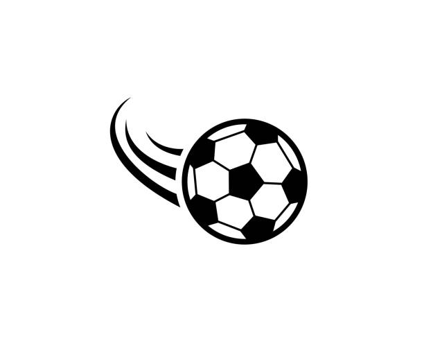 Soccer ball icon vector art illustration