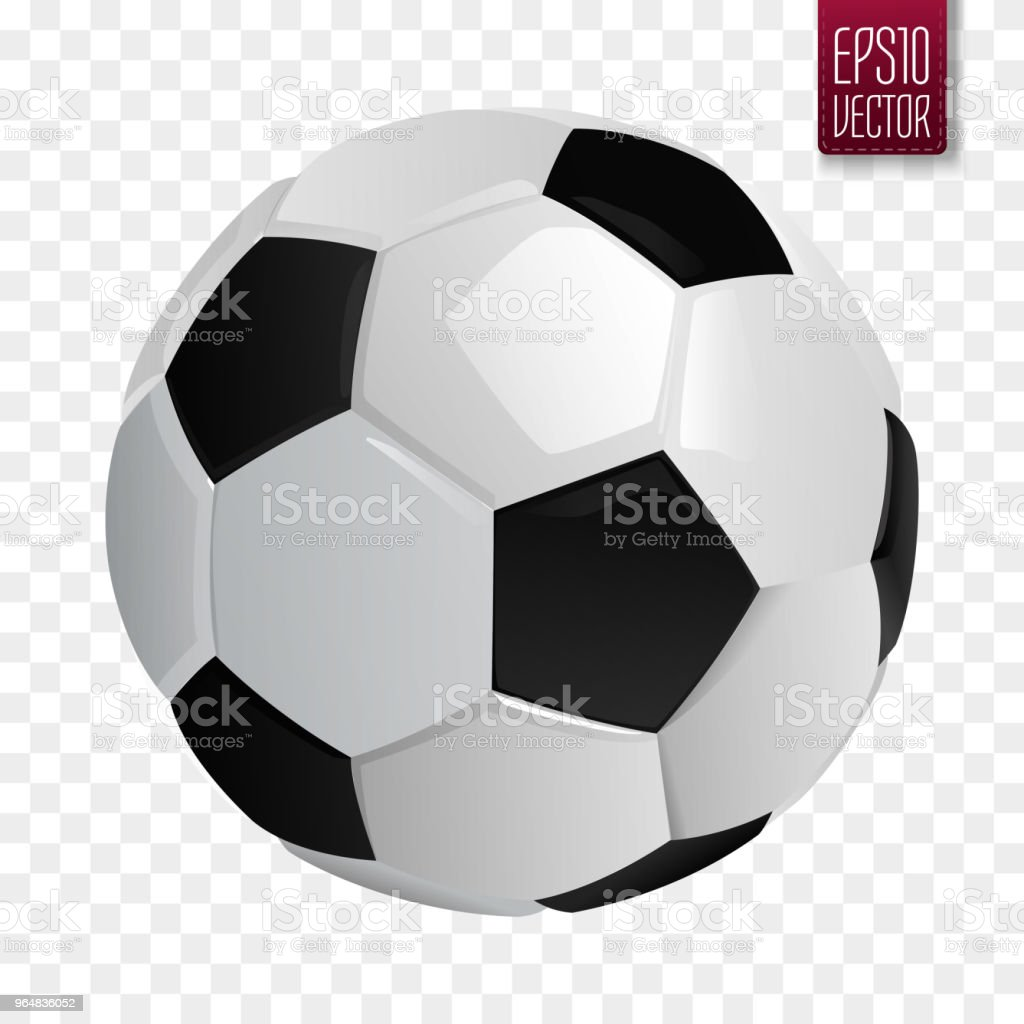 Soccer ball isolated. European football vector illustration royalty-free soccer ball isolated european football vector illustration stock vector art & more images of ball