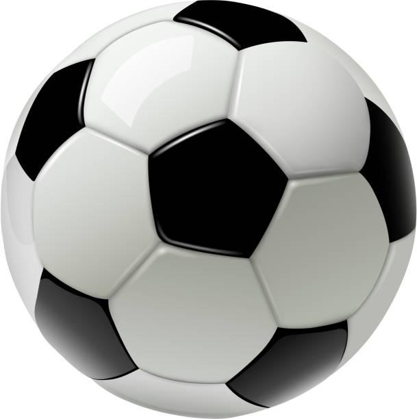 bildbanksillustrationer, clip art samt tecknat material och ikoner med fotboll som isolerade - fotboll