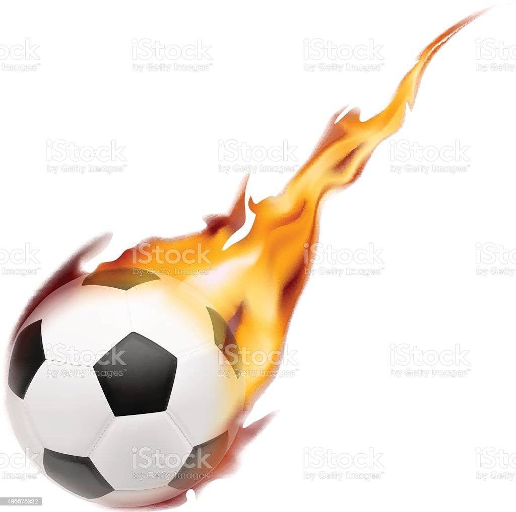 Fireball White Background