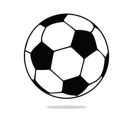 Soccer Ball Symbol, Football Ball Icon