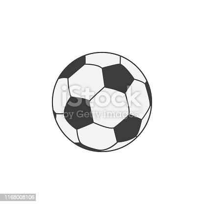 istock Soccer ball 1168008106