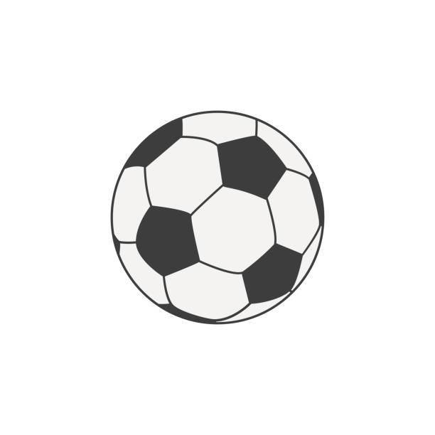 stockillustraties, clipart, cartoons en iconen met voetbal - sportkampioenschap