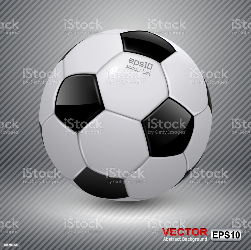 Soccer ball royalty-free soccer ball stock vector art & more images of backgrounds