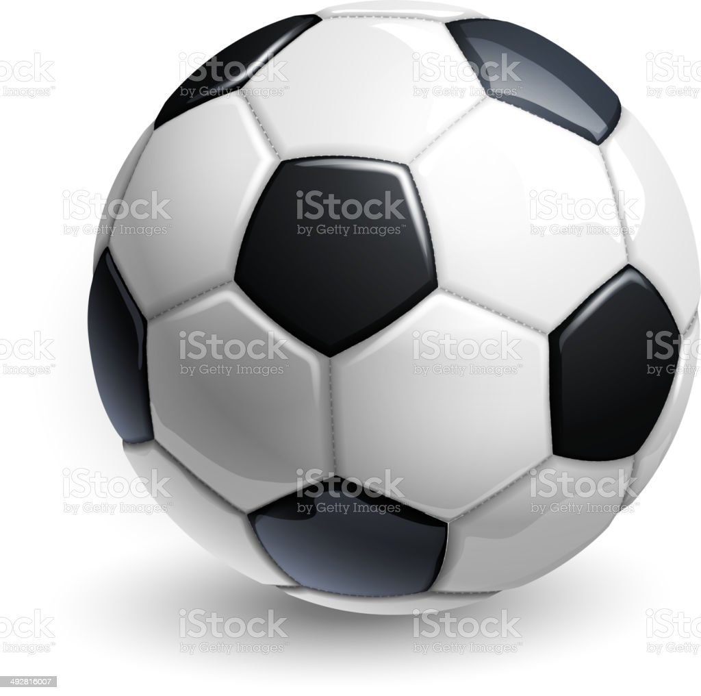 soccer ball royalty-free soccer ball stock vector art & more images of activity