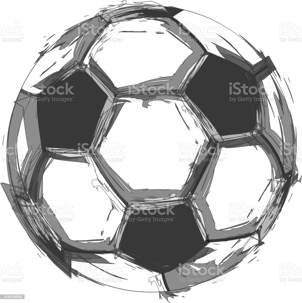 soccer ball clip art, vector images & illustrations - istock