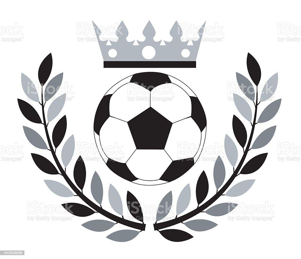 Ballon de football. - Illustration vectorielle
