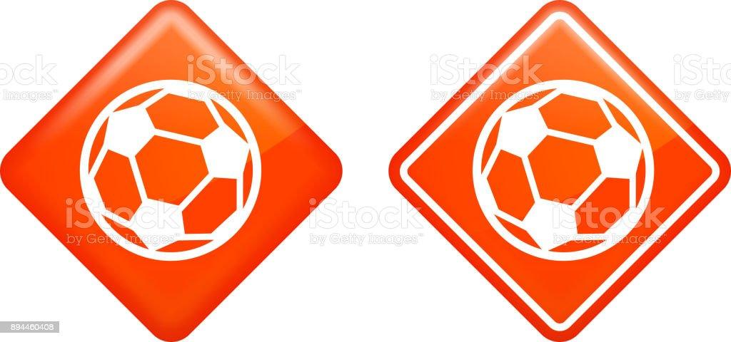 Soccer Ball. vector art illustration