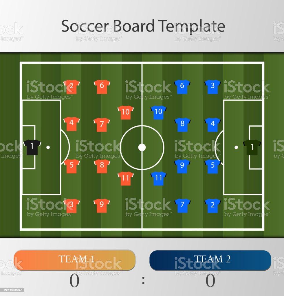 c532aab1e9de1 Modelo de placa de futebol ilustração de modelo de placa de futebol e mais  banco de