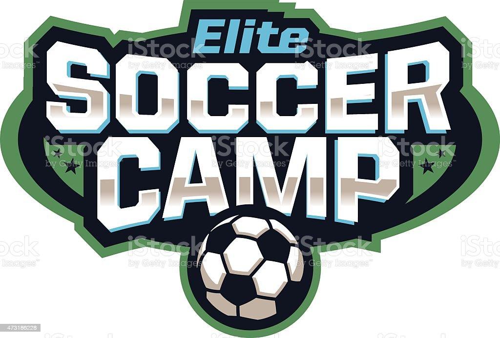 Soccer Camp Emblem royalty-free soccer camp emblem stock vector art & more images of 2015