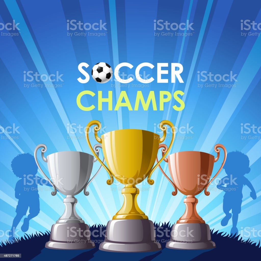 Soccer Champs royalty-free soccer champs stock vector art & more images of aspirations