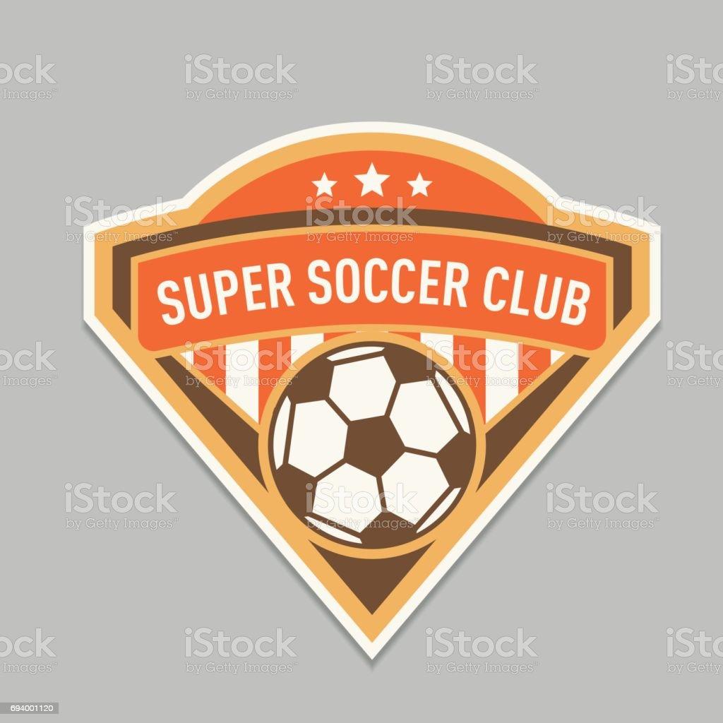 Soccer Club Logo Or Badge Football Logo Templates Stock Vector Art