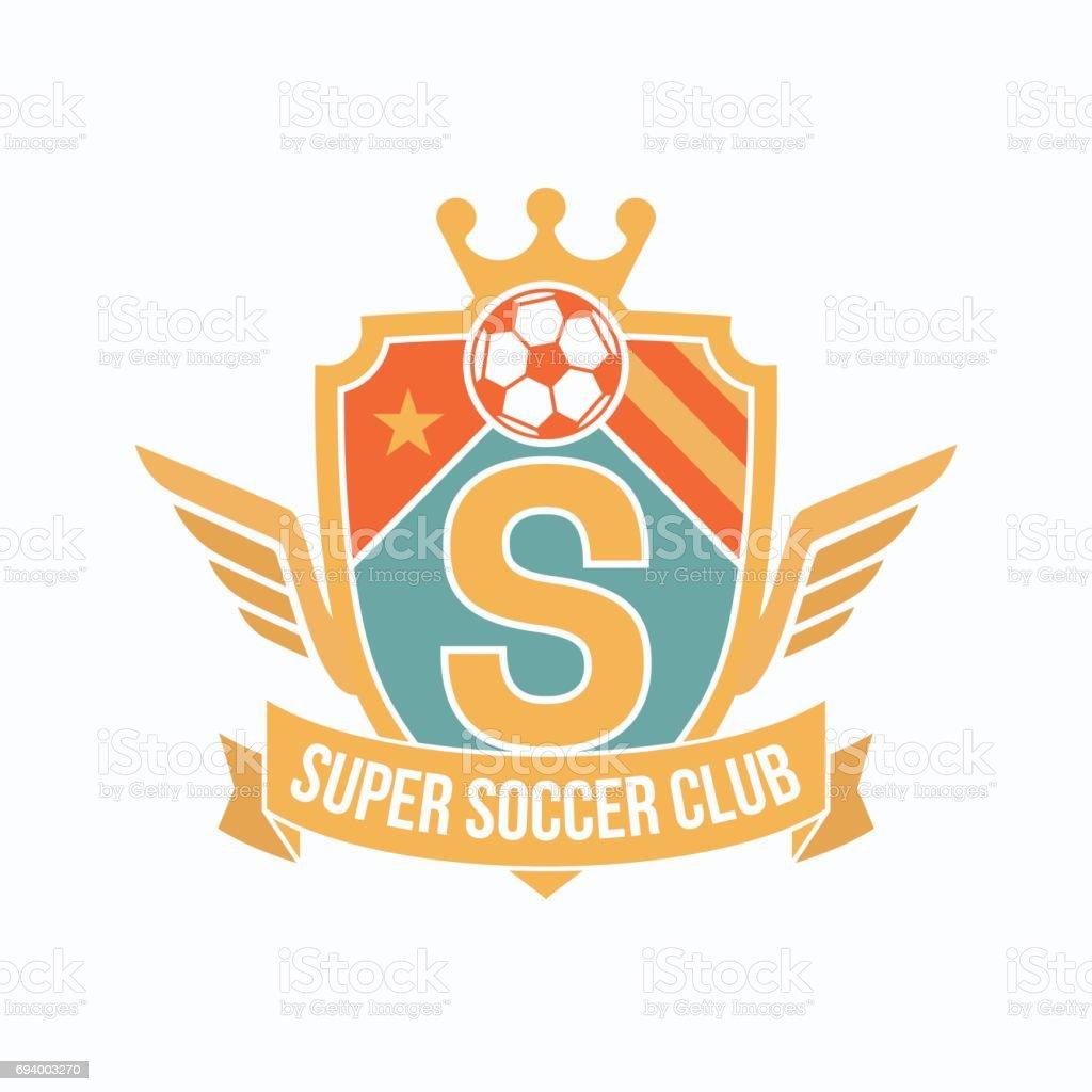 Soccer Club Logo Or Badge. Football Logo Templates. Royalty Free Soccer  Club Logo