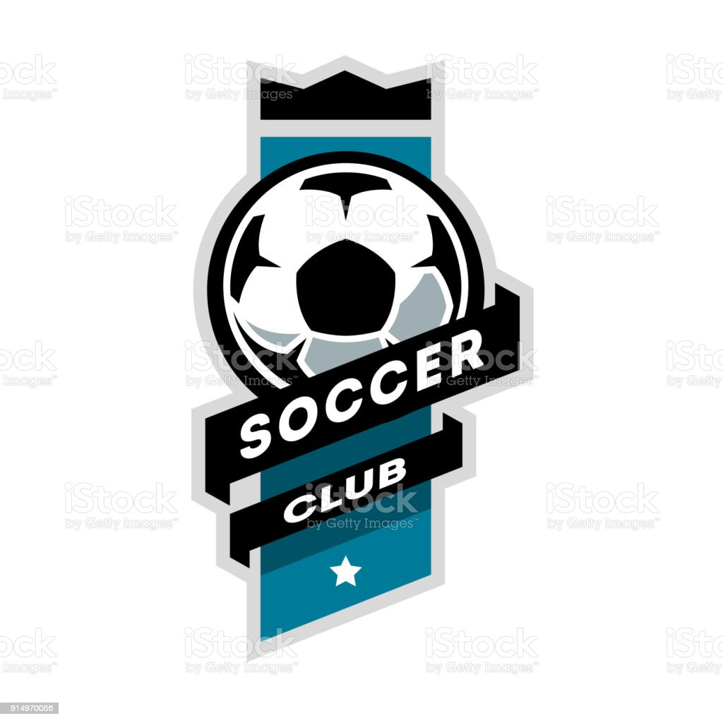 Soccer Club Logo Stock Illustration - Download Image Now