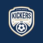 Soccer crest
