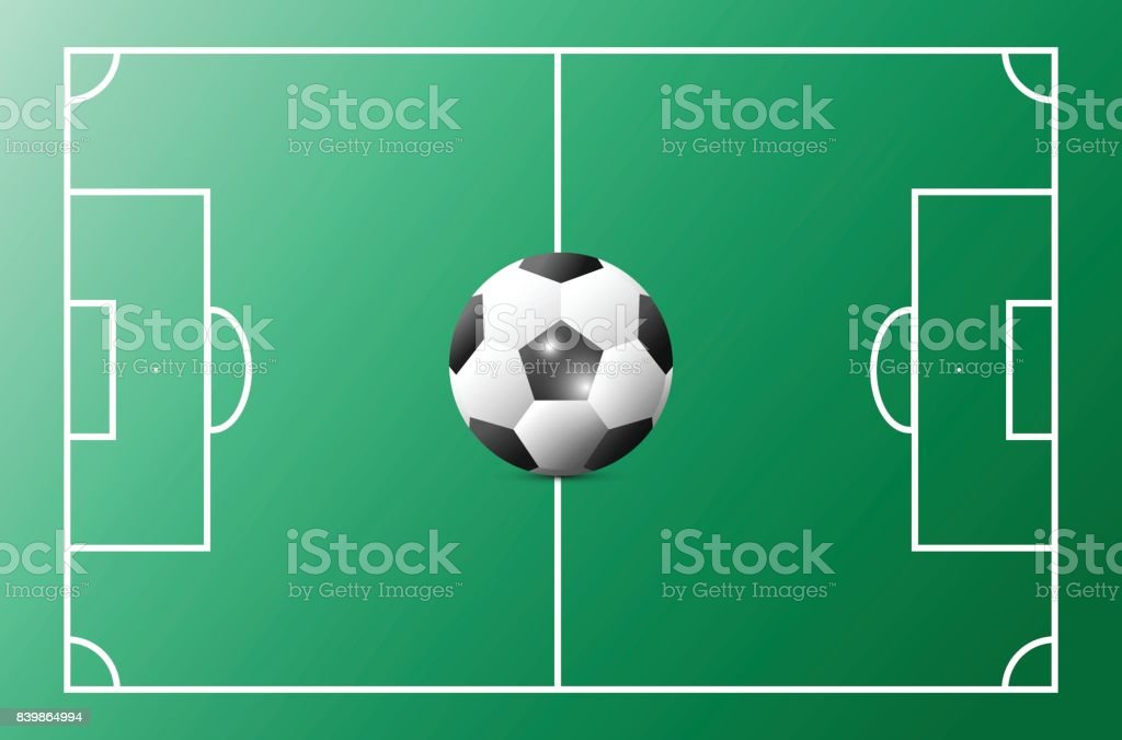 soccer cup advertising sport event announcement place your