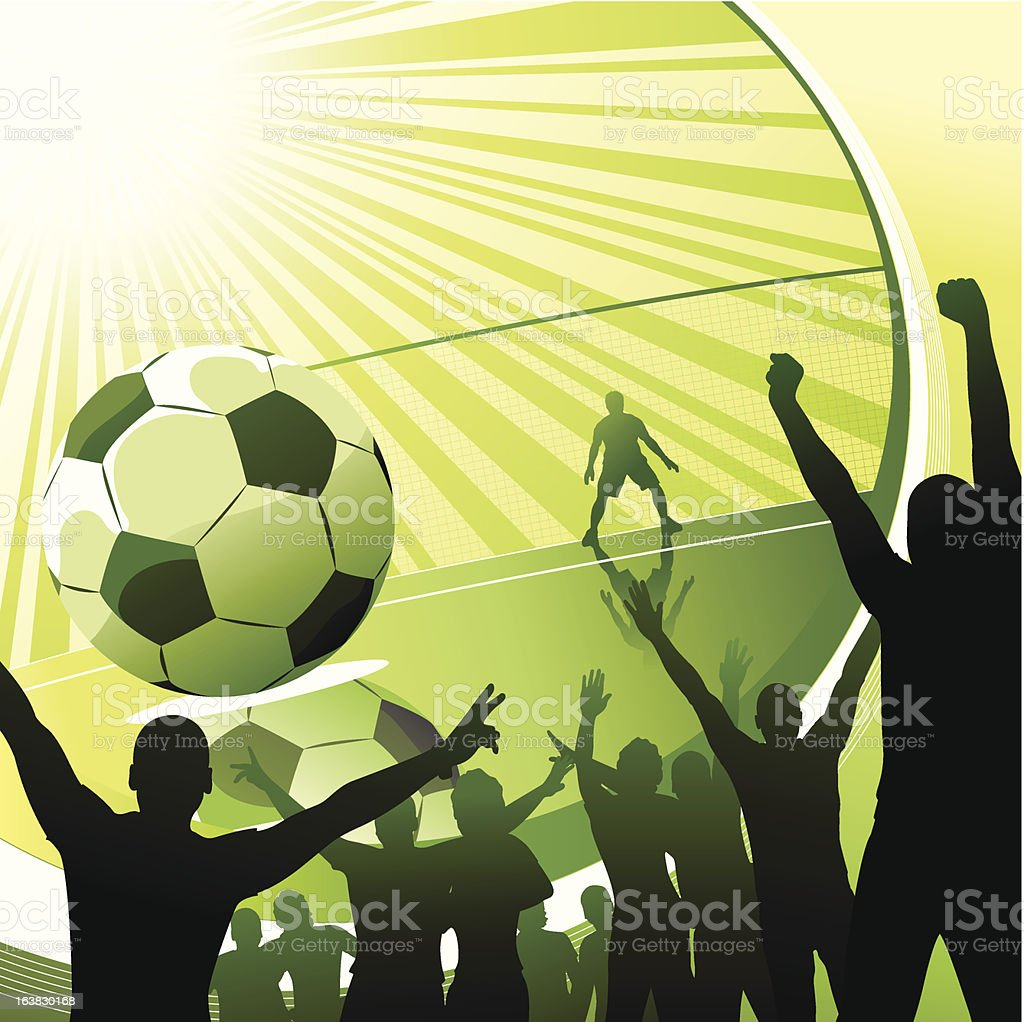 soccer fans royalty-free soccer fans stock vector art & more images of illustration