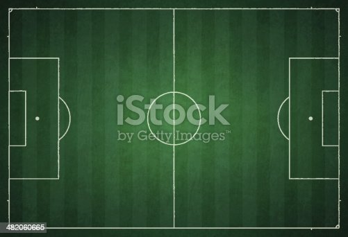 Soccer Field - grungy green background
