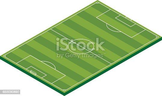 Vector Art - American football field. EPS clipart gg70267702 - GoGraph