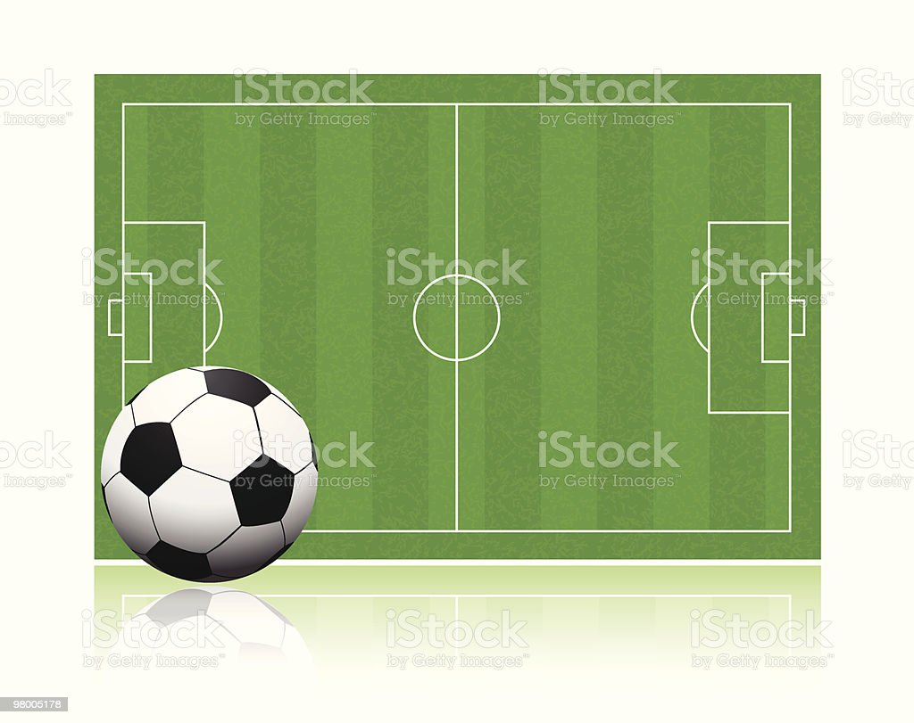 Soccer field royalty-free soccer field stock vector art & more images of angle