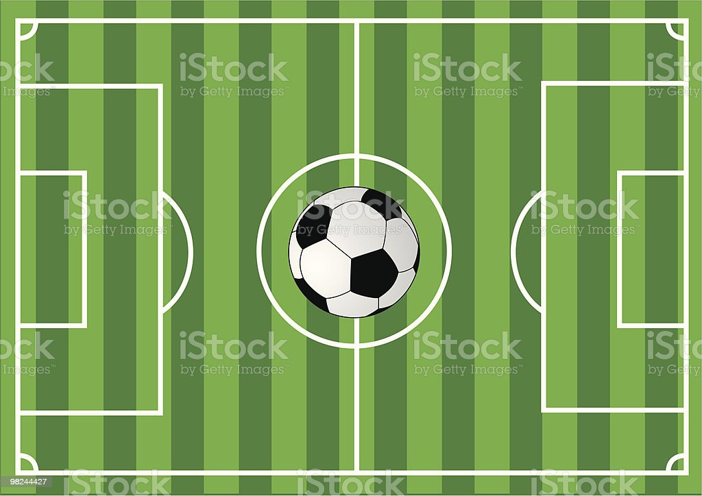 Soccer field royalty-free soccer field stock vector art & more images of backgrounds