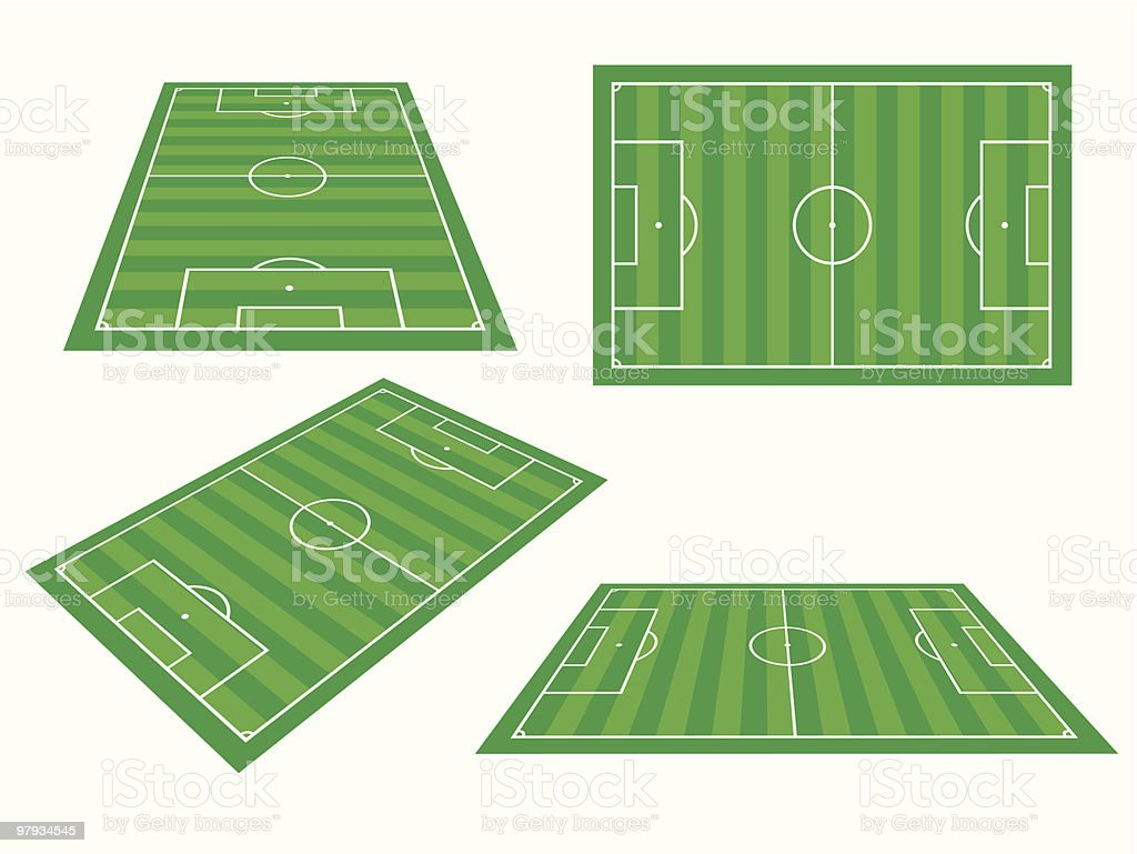 Soccer fields royalty-free soccer fields stock vector art & more images of backgrounds