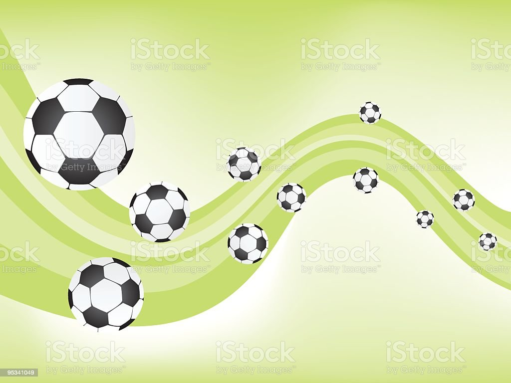 Soccer Football Background illustration royalty-free stock vector art