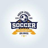 Soccer Football Badge Design
