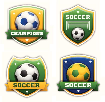 Soccer Football Badges