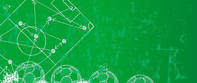 足球足球設計範本或背景向量圖形及更多全景圖片