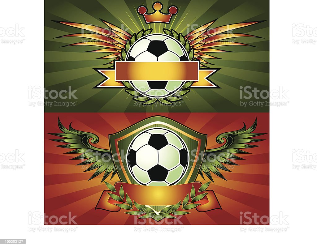 Soccer Football Emblems royalty-free soccer football emblems stock vector art & more images of award ribbon