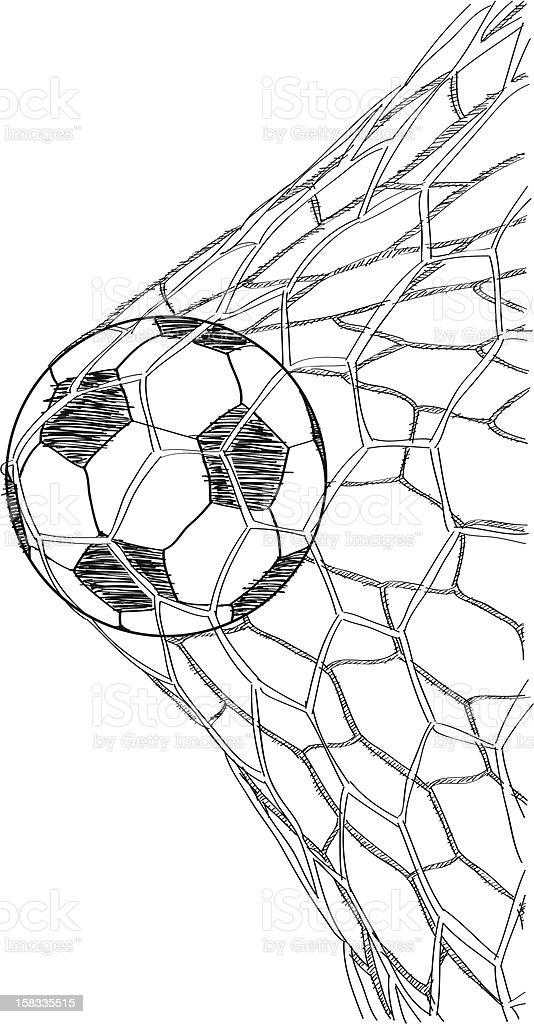 Soccer Football Illustrator. royalty-free stock vector art