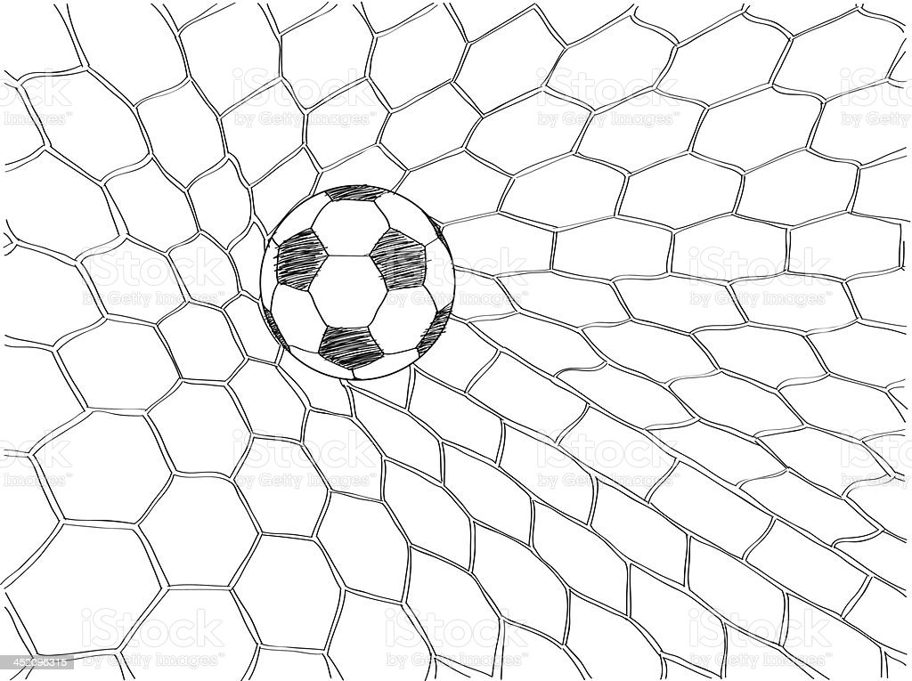 Soccer Football Illustrator. royalty-free soccer football illustrator stock vector art & more images of ball