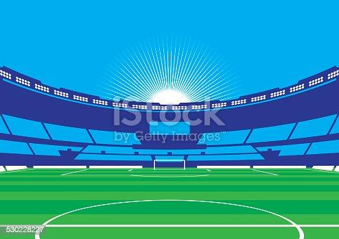 istock Soccer / Football Stadium 530228227