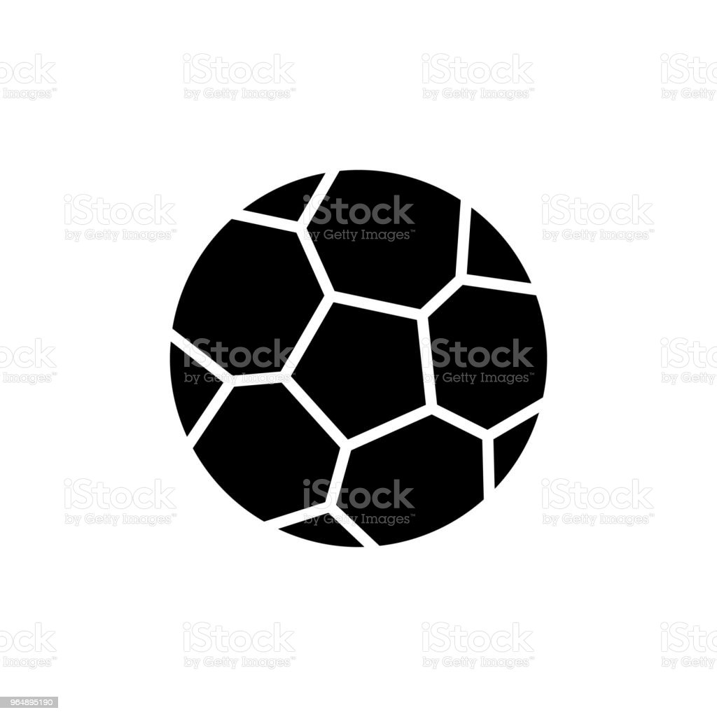 Soccer game black icon concept. Soccer game flat  vector symbol, sign, illustration. royalty-free soccer game black icon concept soccer game flat vector symbol sign illustration stock vector art & more images of backgrounds
