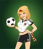 Soccer Girl Germany