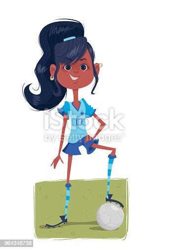 istock Soccer Girl 964348738