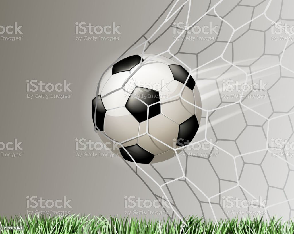 soccer goal illustrations vector art illustration
