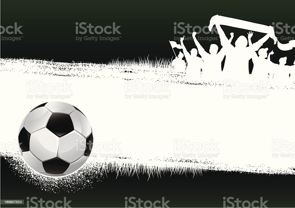 soccer green background royalty-free stock vector art
