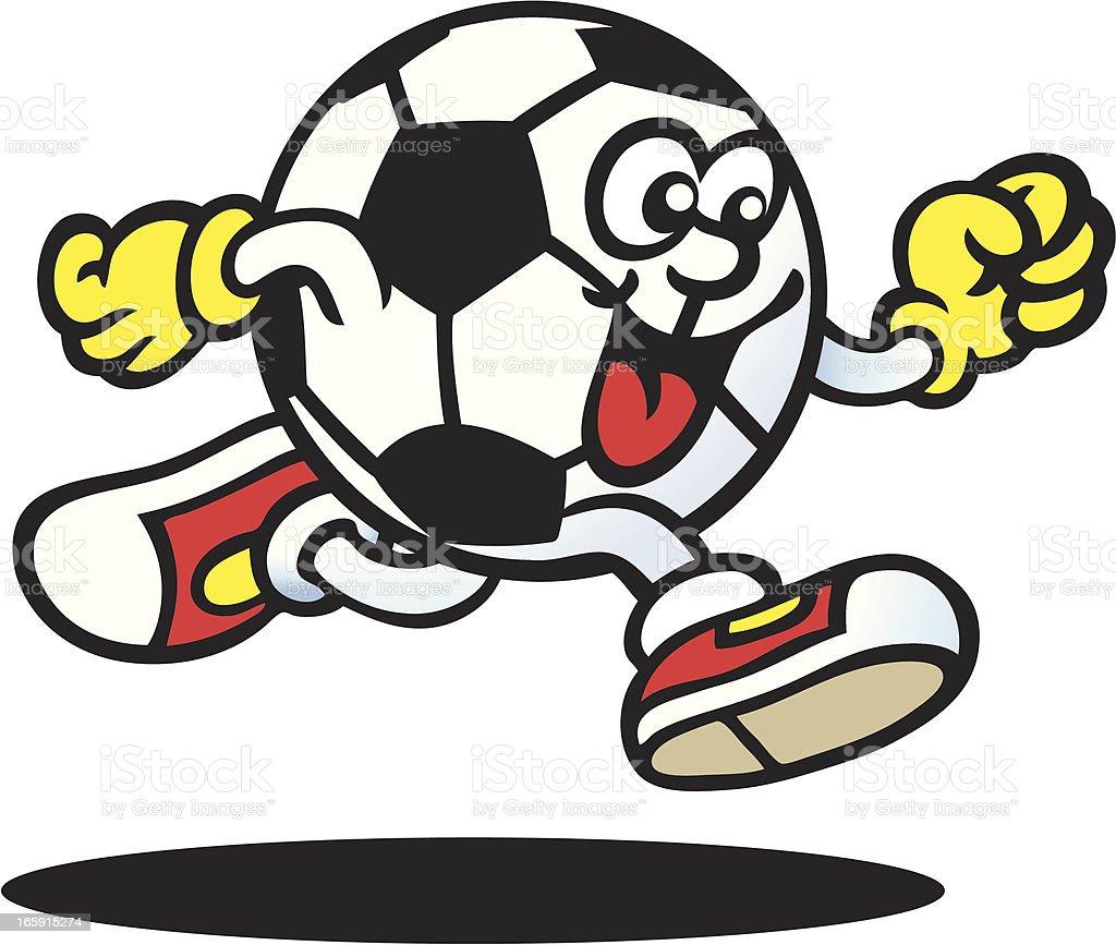 Soccer Guy vector art illustration